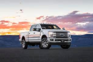 Ford F 250 Platinum Ford Duty 2017 Motor Trend Truck Of The Year