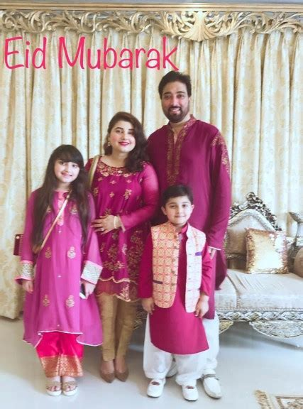 Javeria Saud Celebrating Eid With Family ? Health Fashion