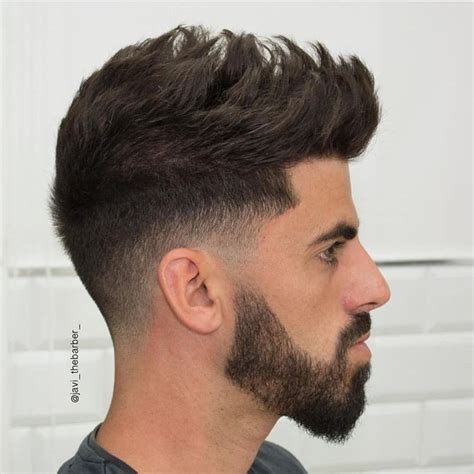 outrages mens spiked hairstyles low fade with spike texture on top hair styles