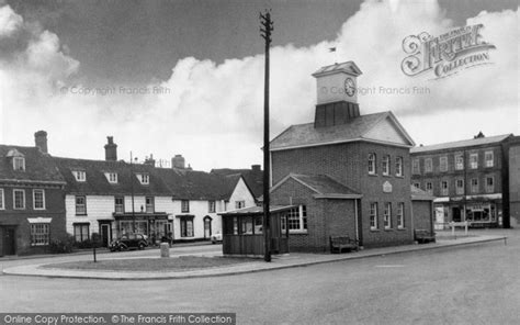 Potton Square by Potton Market Square C 1955 Francis Frith
