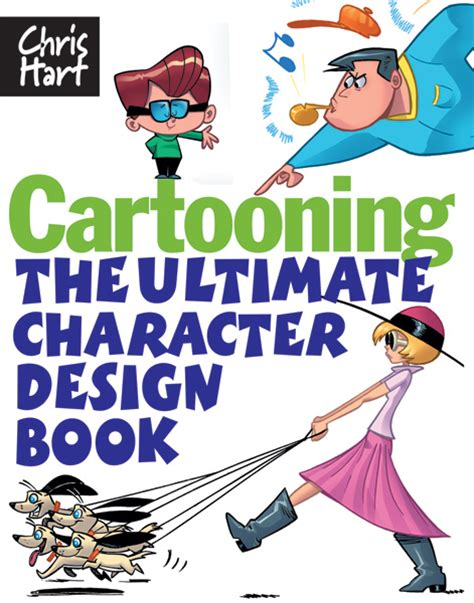 cartooning the ultimate character design book sixth books how to books