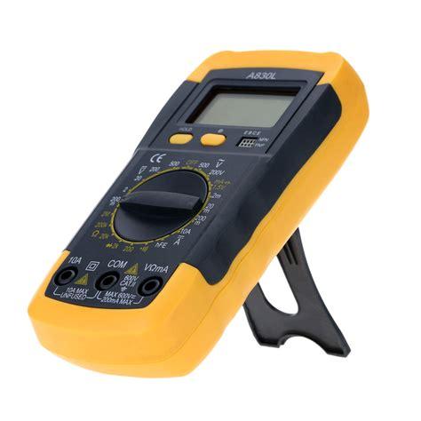 diod ohmmeter aliexpress buy lcd digital multimeter voltmeter ammeter ohmmeter hfe tester w date hold