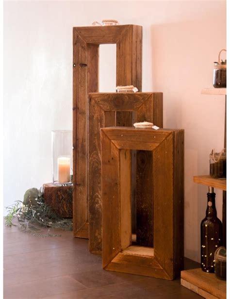 candelabro juego decora con cajas juego candelabros de madera