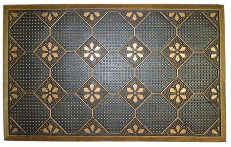 traditional rubber st imports decor golden plumbago rubber mat doormats houzz