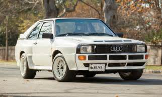 Audi Auction Grocery Getter 1984 Audi Sport Quattro Heads