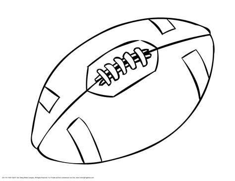 sports coloring pages pdf football ball coloring pages clipart best