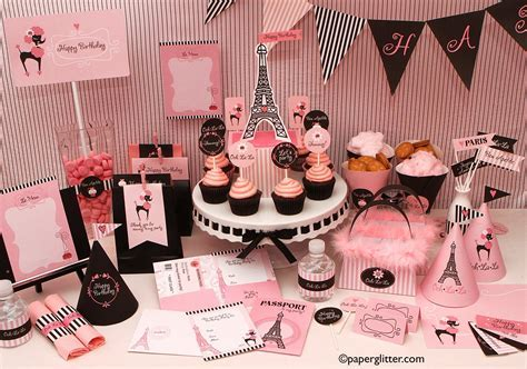 Inspiration: Passport to Paris Party   Ebda3
