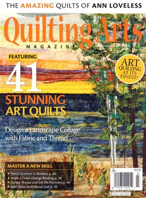 Quilting Arts Magazine Subscription by Magazine Quilting Arts Magazine Subscription Deals