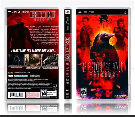 theme psp resident evil viewing full size resident evil origins box cover