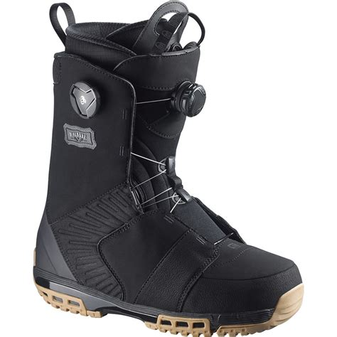 snow board boots salomon dialogue focus boa snowboard boots 2016 evo