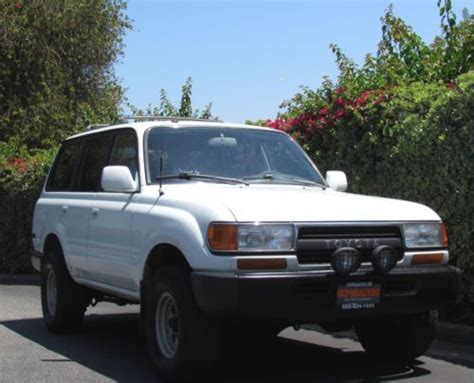 automobile air conditioning service 1993 toyota land cruiser regenerative braking buy used 1991 toyota land cruiser tow package roof rack air conditioning sport tires in long