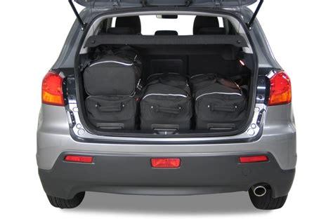mitsubishi asx boot asx mitsubishi asx 2010 heden car bags reistassenset