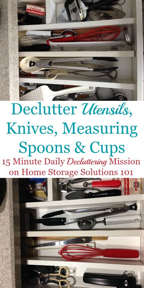 love these kitchen gadget storage solutions considering how to declutter utensils knives kitchen gadgets