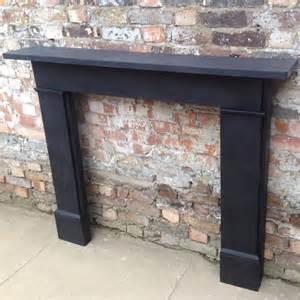 reclaimed black slate fireplace surround decorative