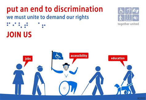 Is 2d Blind Disabled Activists Put An End To Discrimination