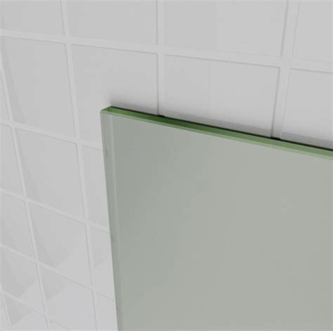 bathroom mirror edging 900mm frameless pencil edge bathroom mirror 900x750mm
