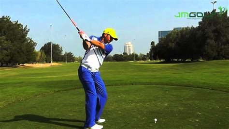 sergio garcia swing slow motion sergio garcia golf swing slow motion down the line youtube