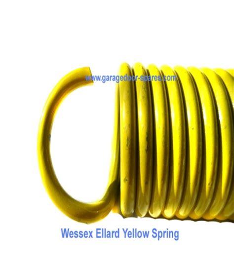 Garage Door Springs Yellow 2 X Wessex Ellard Garage Door Springs Yellow Garage Door