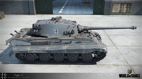 wot ii tiger ii в hd gosu world of tanks