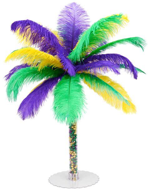 mardi gras centerpieces diy ideas by mardi gras outlet diy mardi gras feather