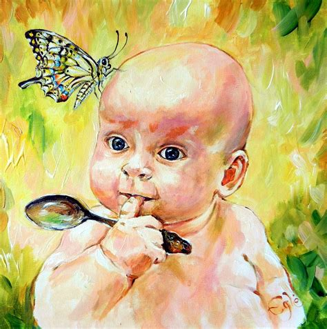 painting for barbies butterfly baby painting by egle wierenga