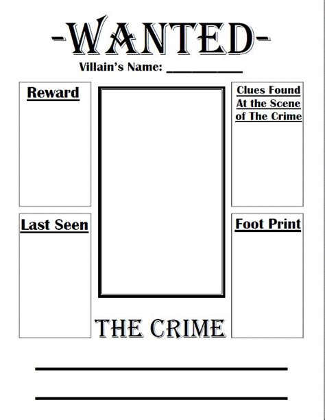 book report wanted poster template tale wanted poster book club for
