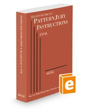 pattern jury instructions federal eleventh circuit pattern jury instructi legal solutions