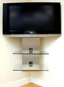 corner tv mounts with shelves aerials satellite tv projector installers essex