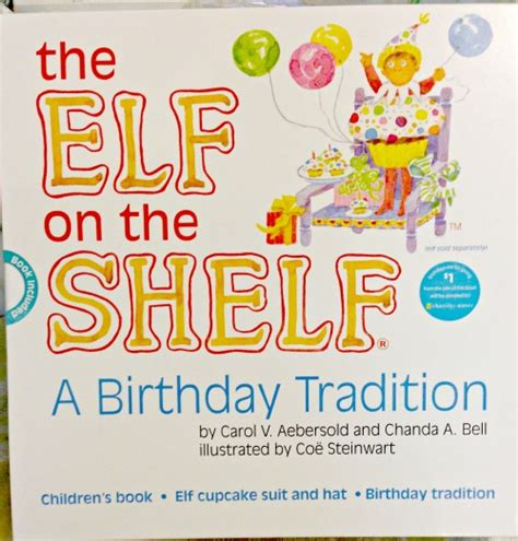 On The Shelf Birthday Tradition Book by On The Shelf Birthday Tradition