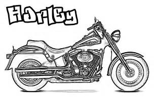 motorcycle coloring pages for coloring page