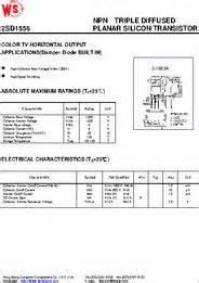 transistor horizontal bu4508dx 2sd1556 datasheet npn diffused planar silicon transistor color