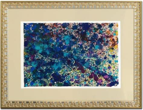 Live On Cus Or Cus Essay by Wyland Quot Soft Coral Color Quot Signed 15 5 Quot X 23 Quot Original Watercolor Painting On Deckle Edge Paper Cus