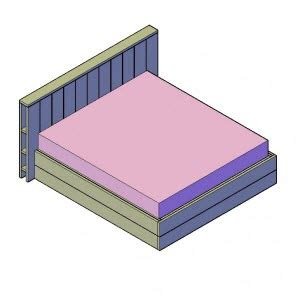 bouwtekening bed bouwtekening steigerhout bed downloaden bouwtekeningenpakket