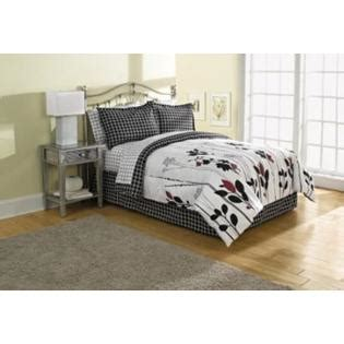 sears bed sets mallory black and white bed set get comfy deals at sears