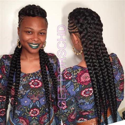 best black 70 best black braided hairstyles that turn heads in 2017