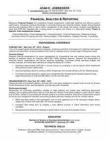 Cv And Cover Letter Exles by Resume Profile Personal Profile Resume Sles Template