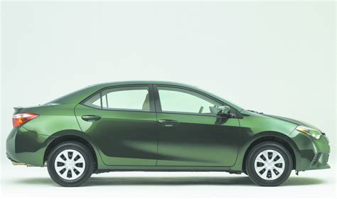 Toyota Corolla 2014 Gas Mileage Toyota S Redesigned Corolla Sedan Offers Eco Models With