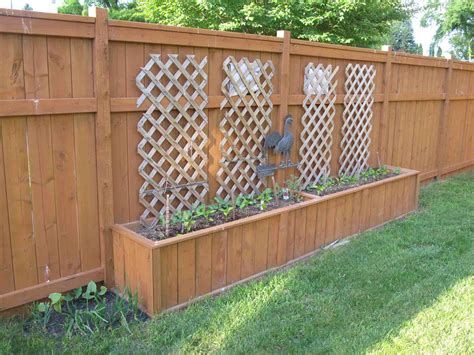 Privacy Fence Planter Box by Fence Planters 28 Images Planter Box Made From Fence