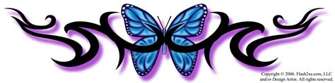 free downloadable tattoo designs patterns for butterfly