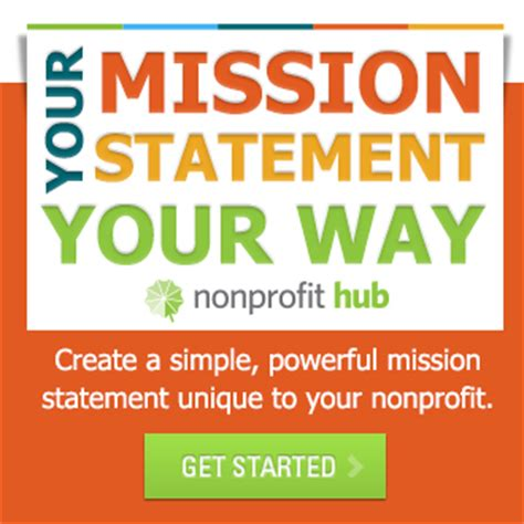 mission statement for non profit template how to write a nonprofit mission statement nonprofit hub