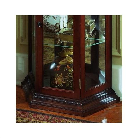 buy pulaski margaret accent table in cherry from bed bath beyond pulaski cherry trapizode mirrored curio in brown 20853