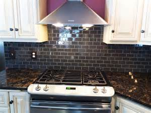 hometalk glass subway tile kitchen backsplash idea