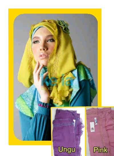 Jilbab Keiia Busana Muslim Rumah Madani Jilbab Dengan Aksesoris