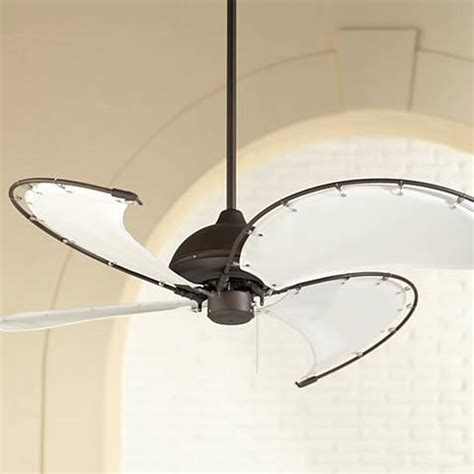 canvas blade ceiling fan 52 quot cool vista oil rubbed bronze ceiling fan m2559