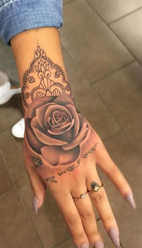 rose tattoos for woman geometric ideas for unique