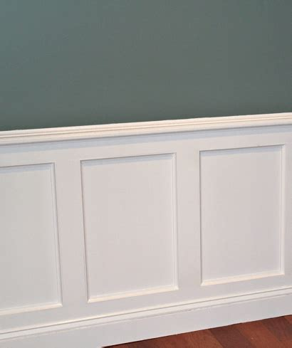 How To Wainscot by Flat Panel Wainscoting Stairs Entry In 2019 Dining
