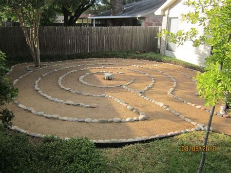 Backyard Labyrinth by Backyard Labyrinth New Home Will