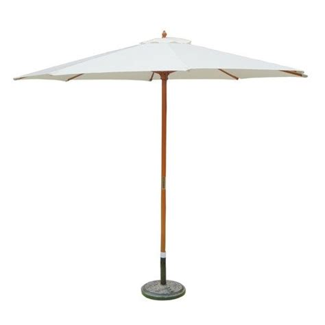 wooden patio umbrella with pulley 9 foot by zest avenue