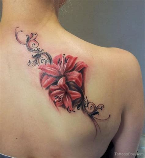 flower tattoo in back flower tattoos tattoo designs tattoo pictures page 52