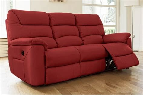 Red Sofa Recliner by Red Recliner Sofa Ideas For The Home Pinterest